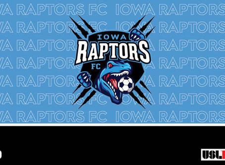Iowa Raptors FC Announce USL League Two Franchise