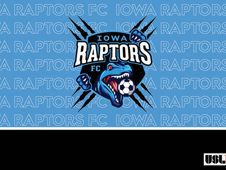 Iowa Raptors FC Announce USL League Two Franchise