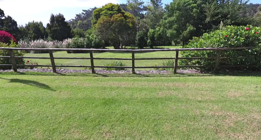 Farm Lodge Lawn Fence