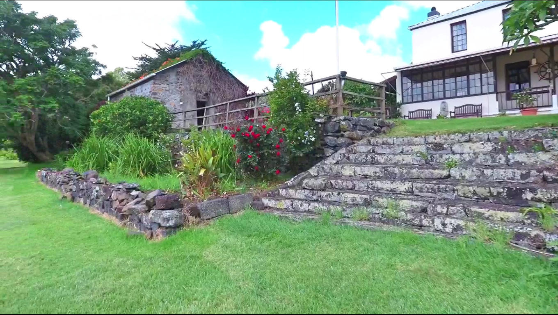 Farm Lodge Lawn Steps