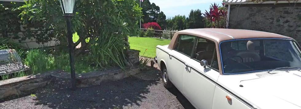 Farm Lodge Lamp & Rolls Royce