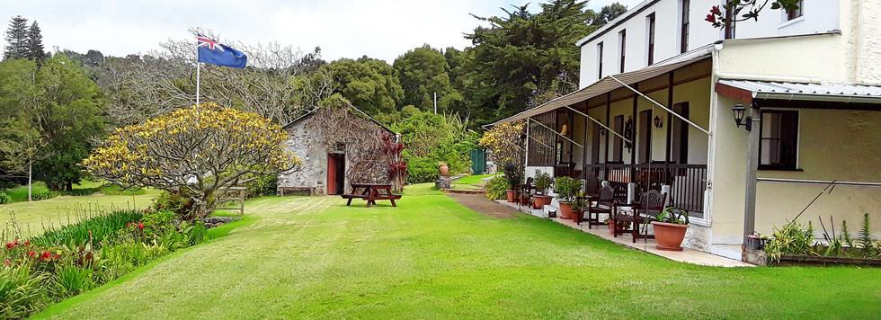 Farm Lodge Side Lawn View