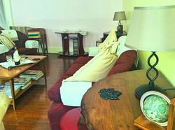 Wellington House Lounge Lamp and Settee