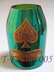 シャンパンキャンドル オリジナルシャンパン デコ アルマンド
