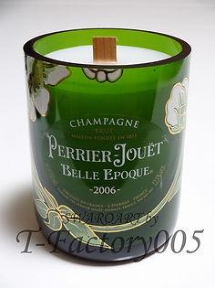 シャンパンキャンドル オリジナルシャンパン デコ ドンペリ ペリエ ベルエ アルマンド
