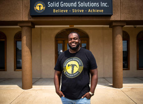 William Bishop uses entrepreneurship, mentorship to change lives