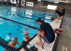 Swim drills are essential to progression