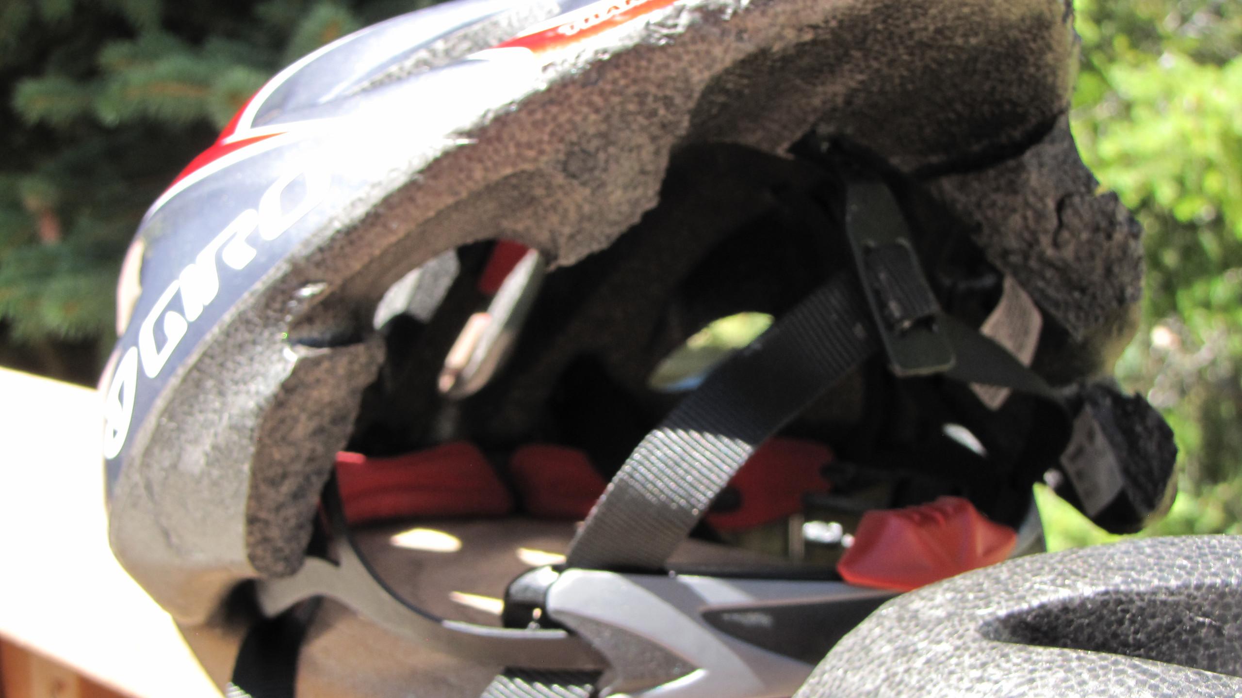 Helmet aftermath