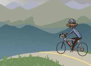 Cycling Uphill to Improve your Time on Flat Courses