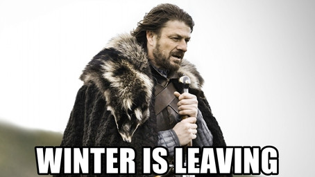 Winter is Leaving