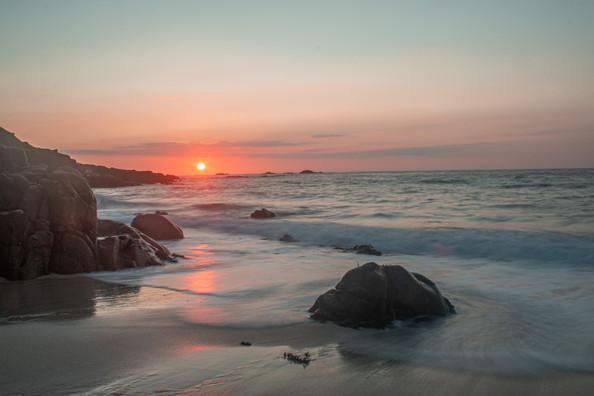 Portherras Cove Sunset