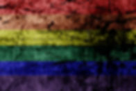 Gay Rainbow 8 stripe flag pattern on dir