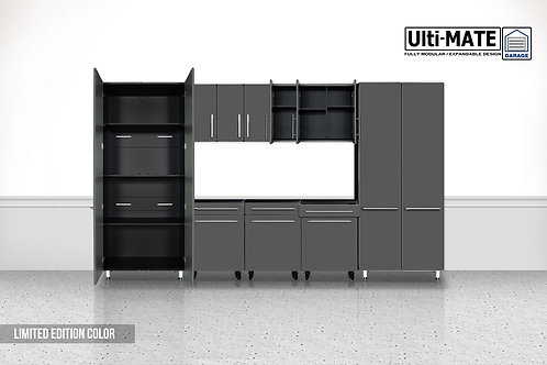 Ulti-MATE 7 Piece / 9' Garage Storage Deluxe System