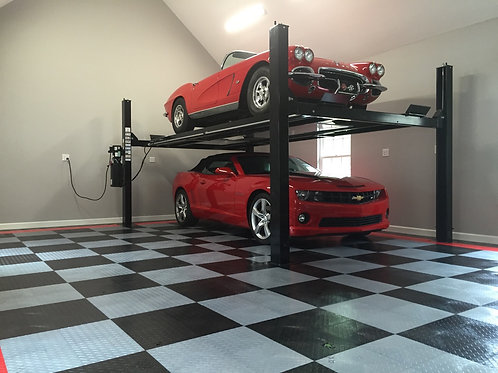 RaceDeck Garage Flooring - Installed