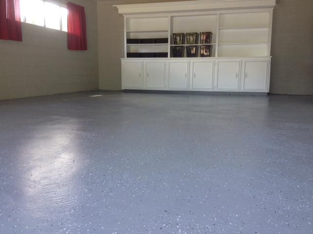 Completed - Epoxy Floor