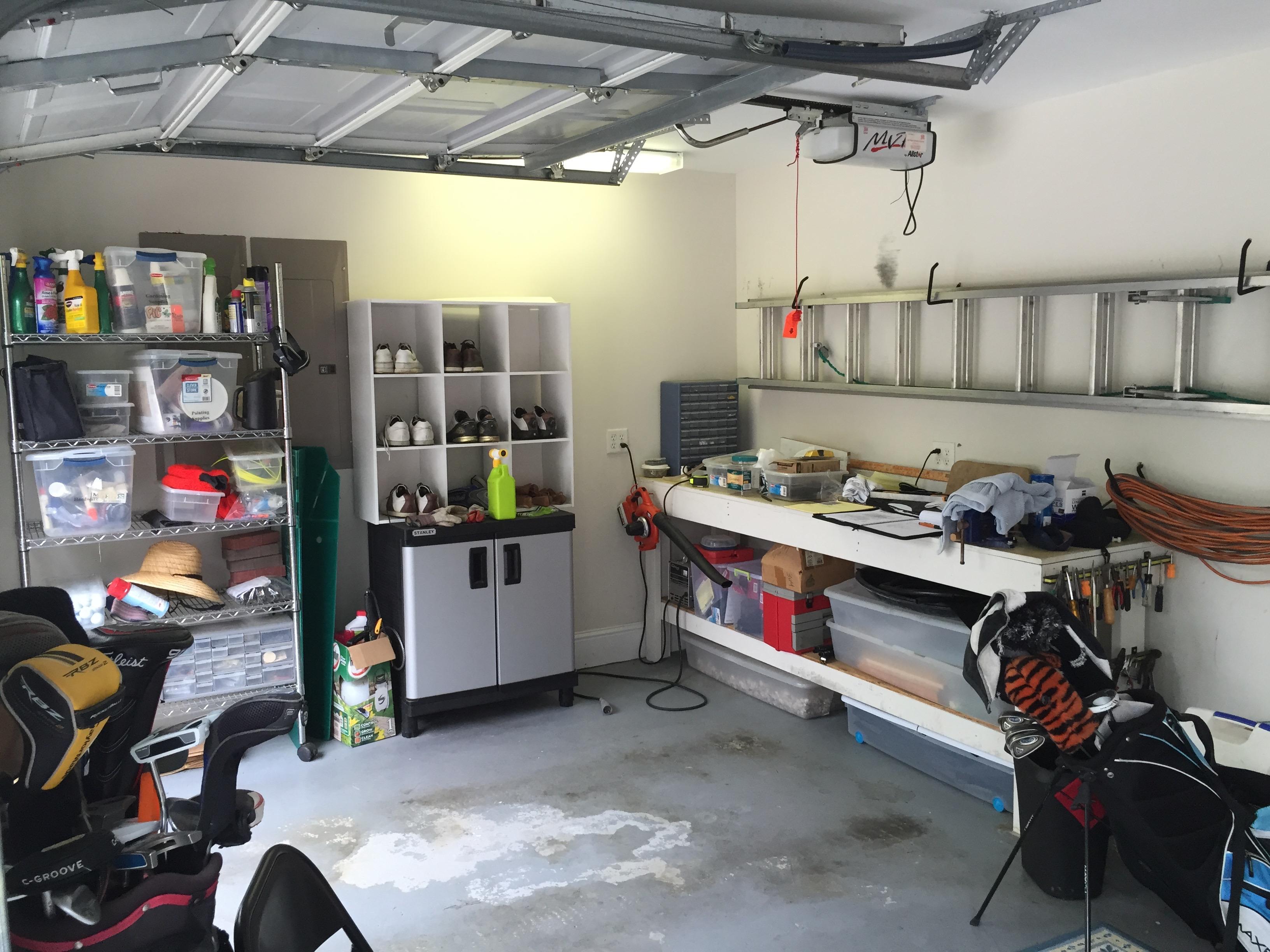 Landings Garage Makeover - Before