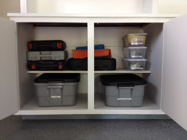 Completed - tools organized
