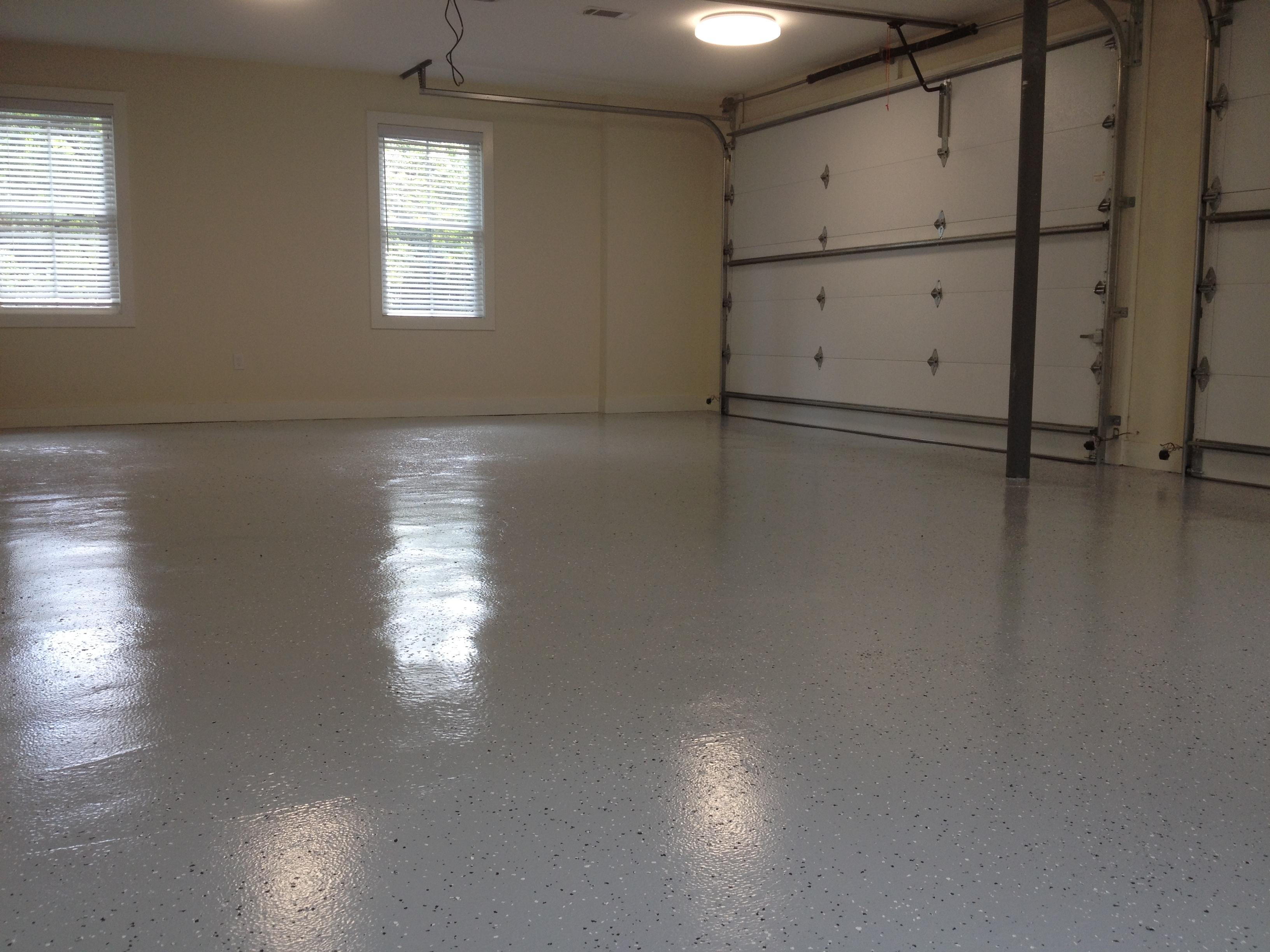Epoxy floor completed