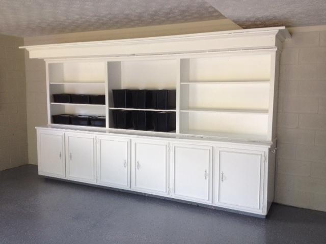 completed - cabinet rebuilt