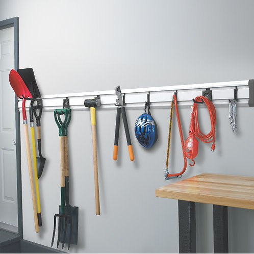 Gladiator GearTrack wall storage rack