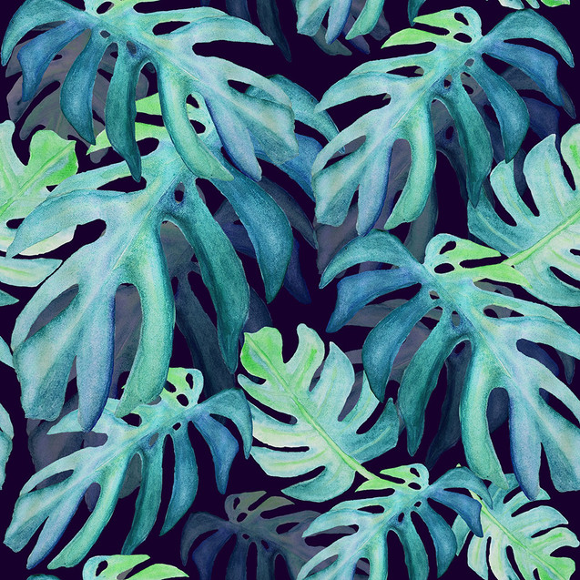 Monstera_Blues hues