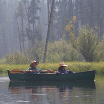 Canoe Ride Down the Deschutz