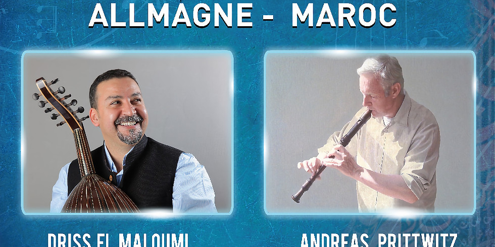 Andreas Prittwitz con Dris El Maloumi en Agadir