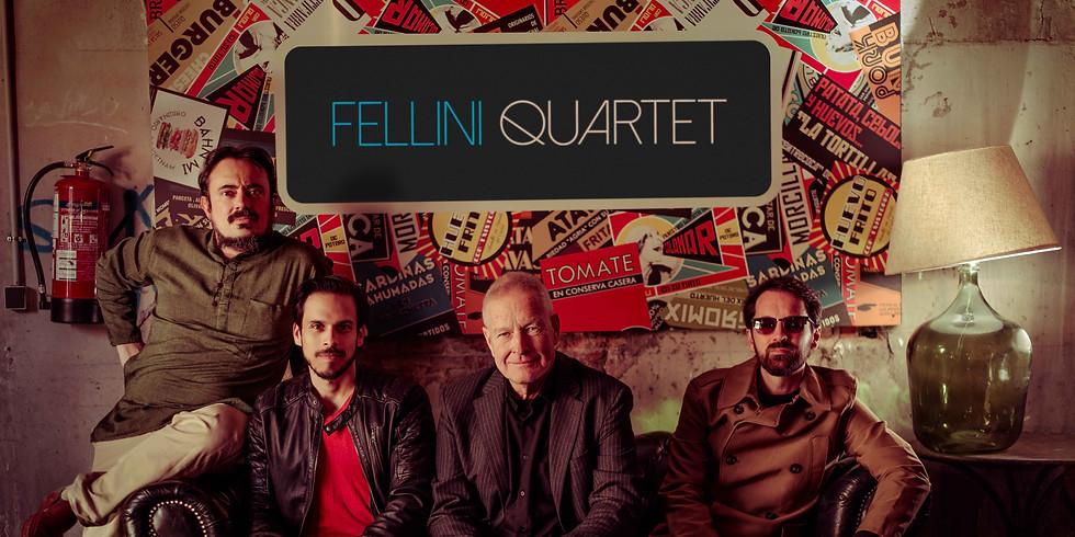 Fellini Quartetto en el Auditorio Nacional, Madrid