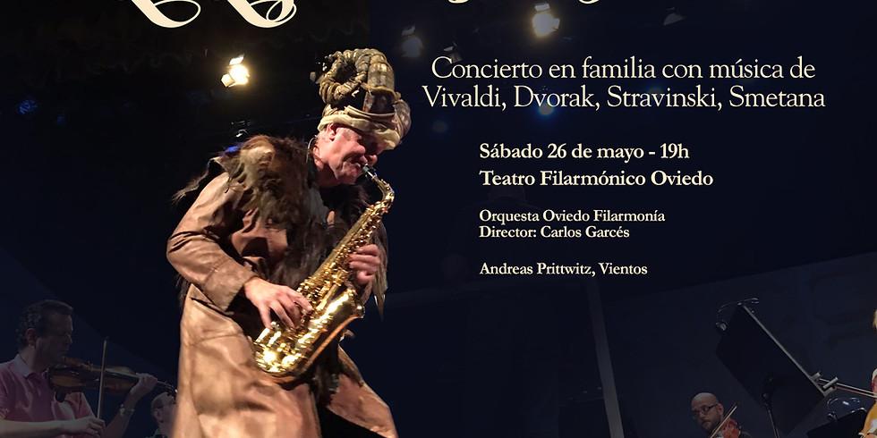 La Leyenda del Fauno en Oviedo con la Orquesta Filarmonía de Oviedo