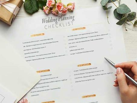 Dicas para planejar e organizar o casamento