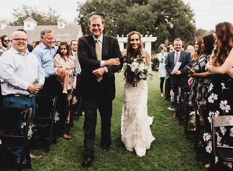 Que ordem de entrada de casamento seguir?
