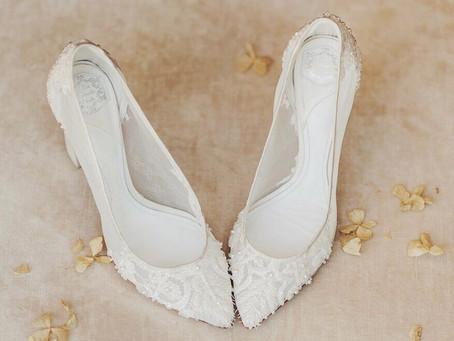 Sapatos para noivas – O guia de estilo e conforto para o Grande Dia