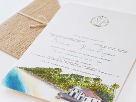 Convites de Casamento - Dicas e Inspirações