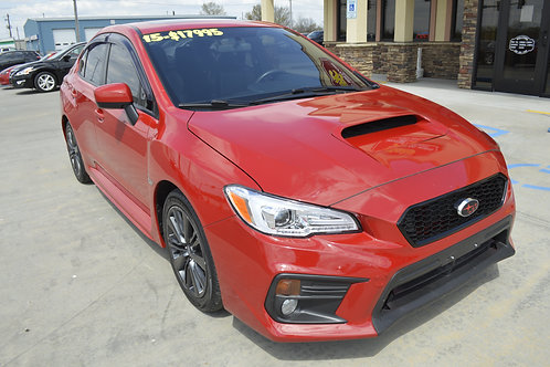 2015 Subaru WRX Limited AWD