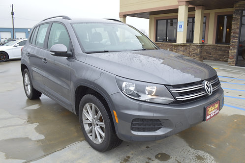 2018 Volkswagen Tiguan Limited 2.0T 4Motion AWD