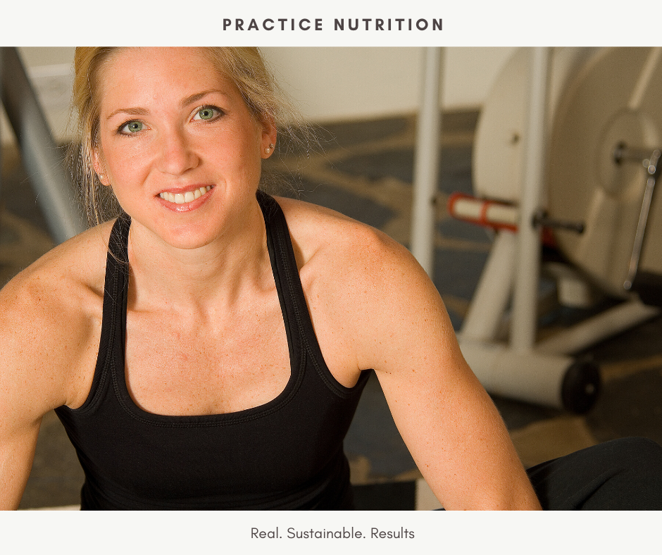 Practice Nutrtition - fit client