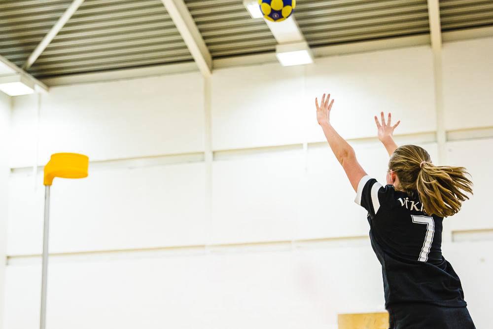 Netball to Korfball - how to incorporate your netball