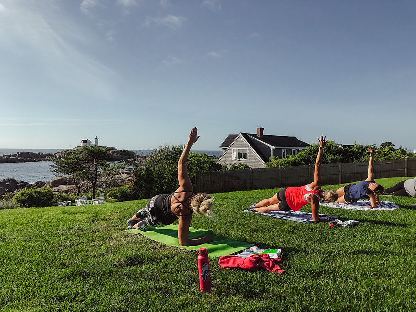 HIIT On The Nubble with CFaulkFitness at The ViewPoint Hotel in York, Maine