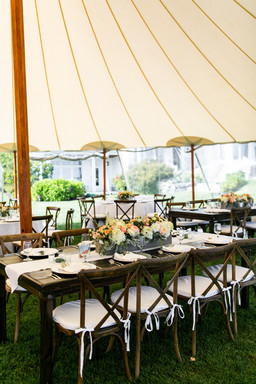 Sperry Tents at The ViewPoint Hotel in York, Maine. Cape Neddick Weddings