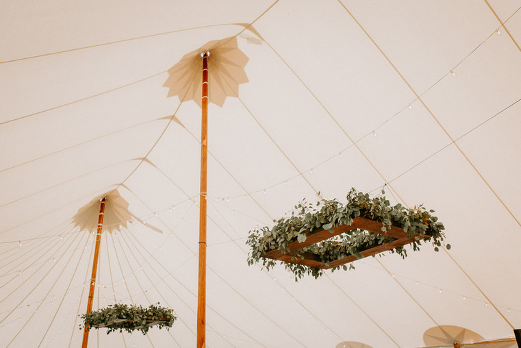 Tented Wedding Reception, Southern Maine