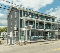 Stones Throw Main Building and Restaurant on Long Sands Beach in York, Maine