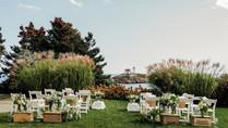 Small outdoor wedding ceremony in Maine, New Hampshire, Massachusetts, Vermont