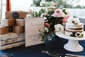 Wedding Dessert Table in York, Maine