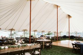 Oceanfront Wedding Reception