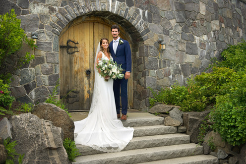 Scenic Coastal Wedding in New England