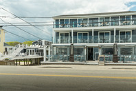 Stones Throw Hotel, Main Building, Beach Club Building, Restaurant | York Beach Maine