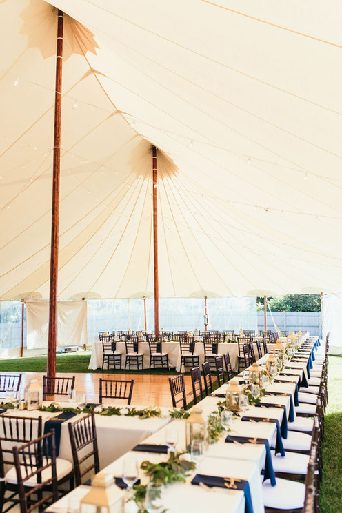 Sperry Tents Seacoast | Chivari Chairs at The ViewPoint Hotel in York, Maine