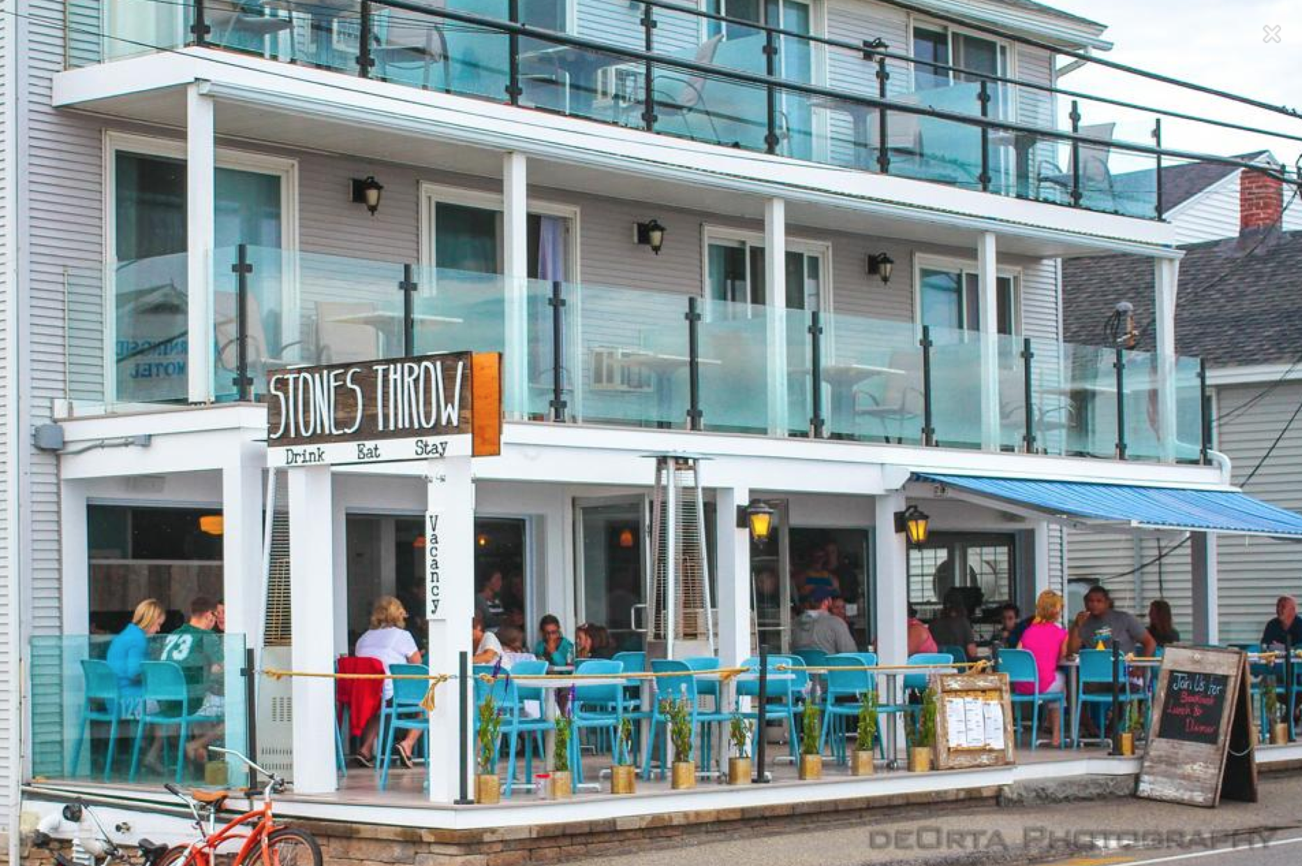 Boutique beachfront hotel, York ME