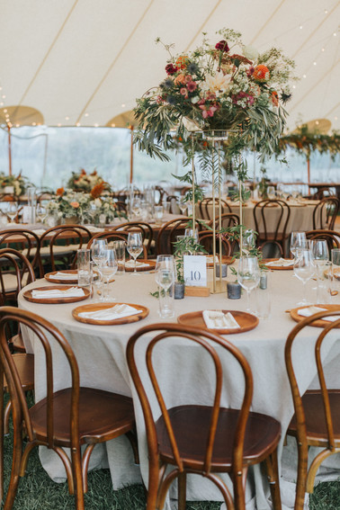 Sperry Tents, Heartwood Rentals, Prism House, and Lani Toscano Design at The ViewPoint Hotel | York, Maine Wedding