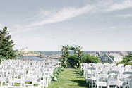 Exchange your vows for each other in front of a dramatic landscape of your dreams. Outdoor wedding arch ideas